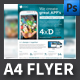 Mobile App A4 Flyer Template - GraphicRiver Item for Sale