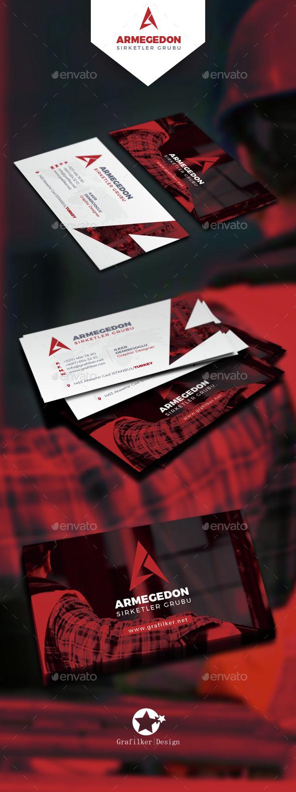 International Business Card Templates - Corporate Business Cards