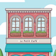 Cafe Building - GraphicRiver Item for Sale