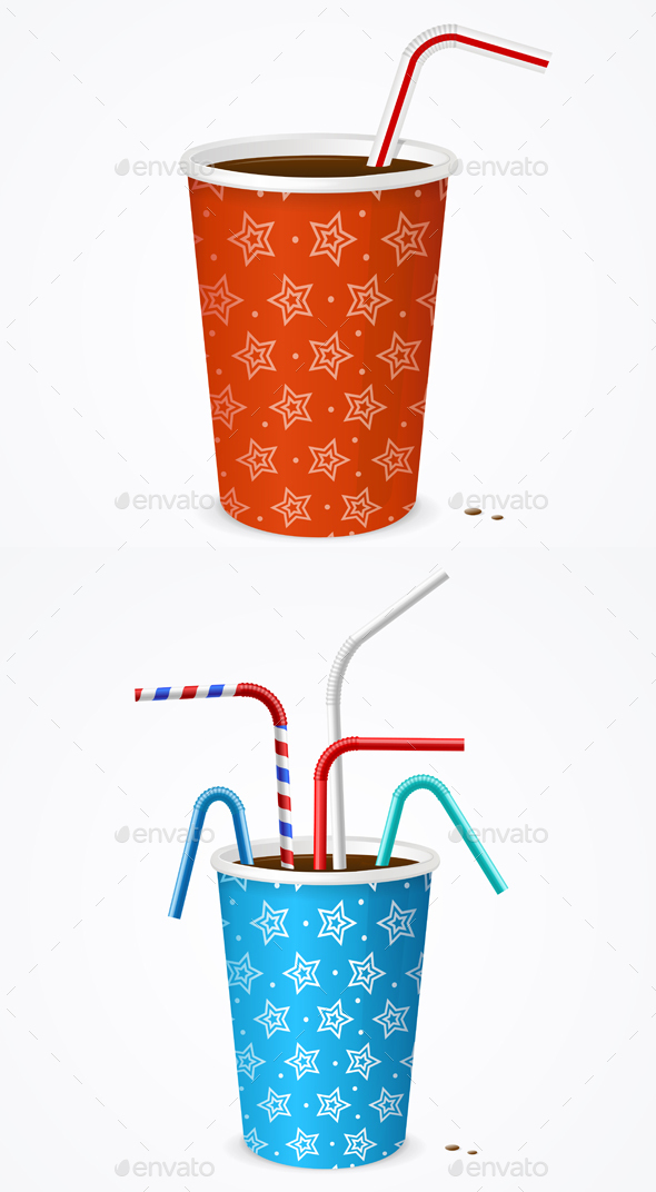Drinking Straw and Cup - Miscellaneous Seasons/Holidays