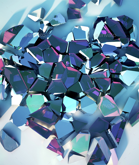 Shards - Abstract 3D Renders