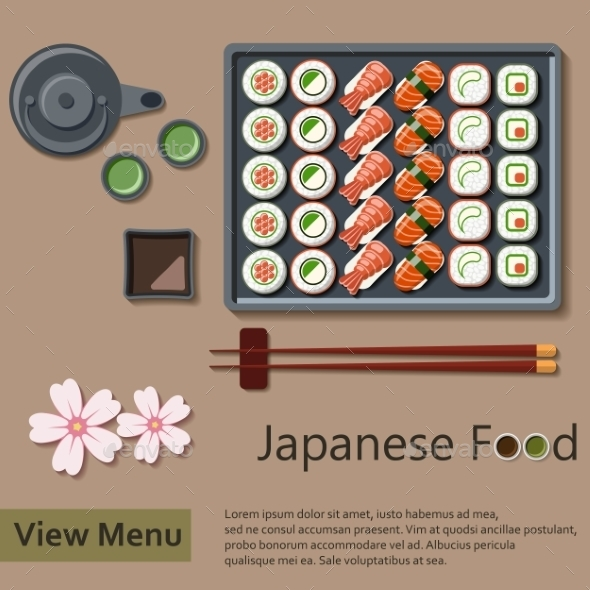 Japanese Food - Food Objects
