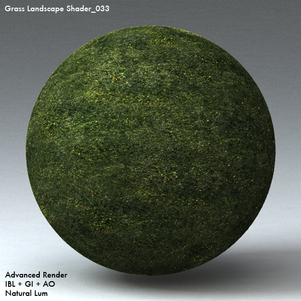 Grass Landscape Shader_033 - 3DOcean Item for Sale