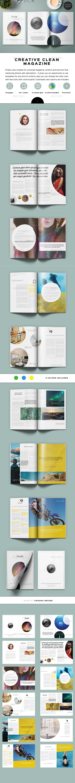 Creative Clean Magazine - Magazines Print Templates