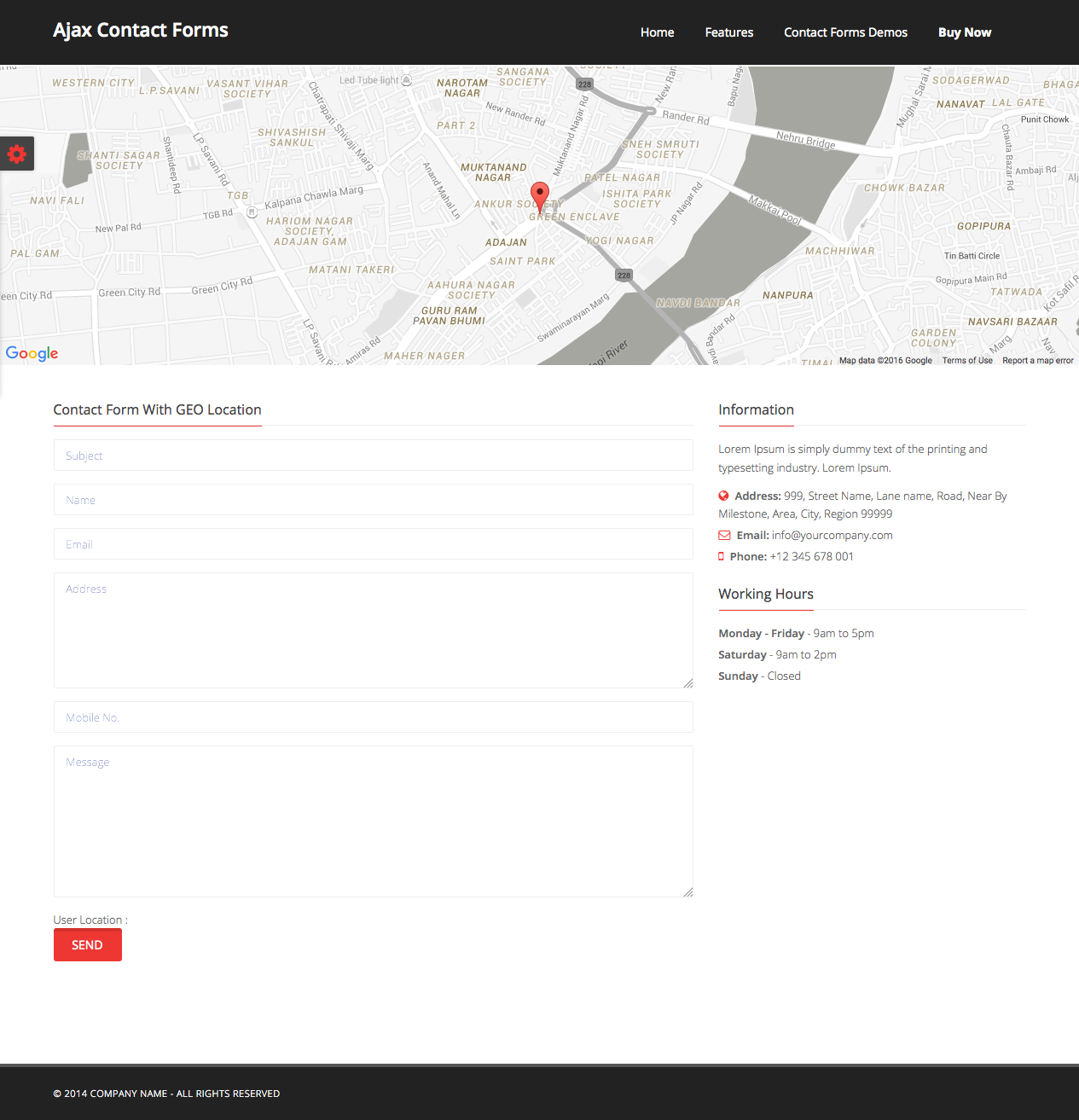 Ajax Contact Form by S_N_K | CodeCanyon