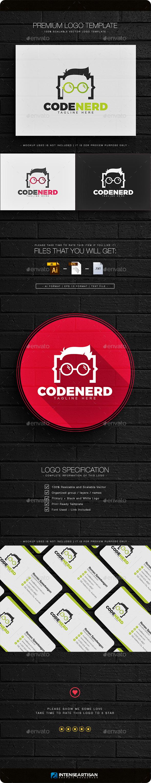 Code Nerd Logo - Humans Logo Templates
