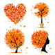 Autumn style - tree, frames, heart for your design - GraphicRiver Item for Sale