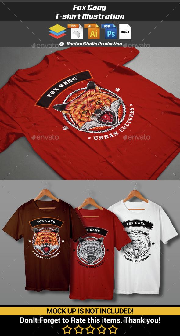 Fox Gang - Sports & Teams T-Shirts