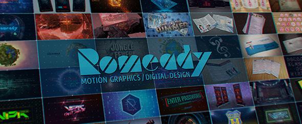 Romeady motion graphics digital design