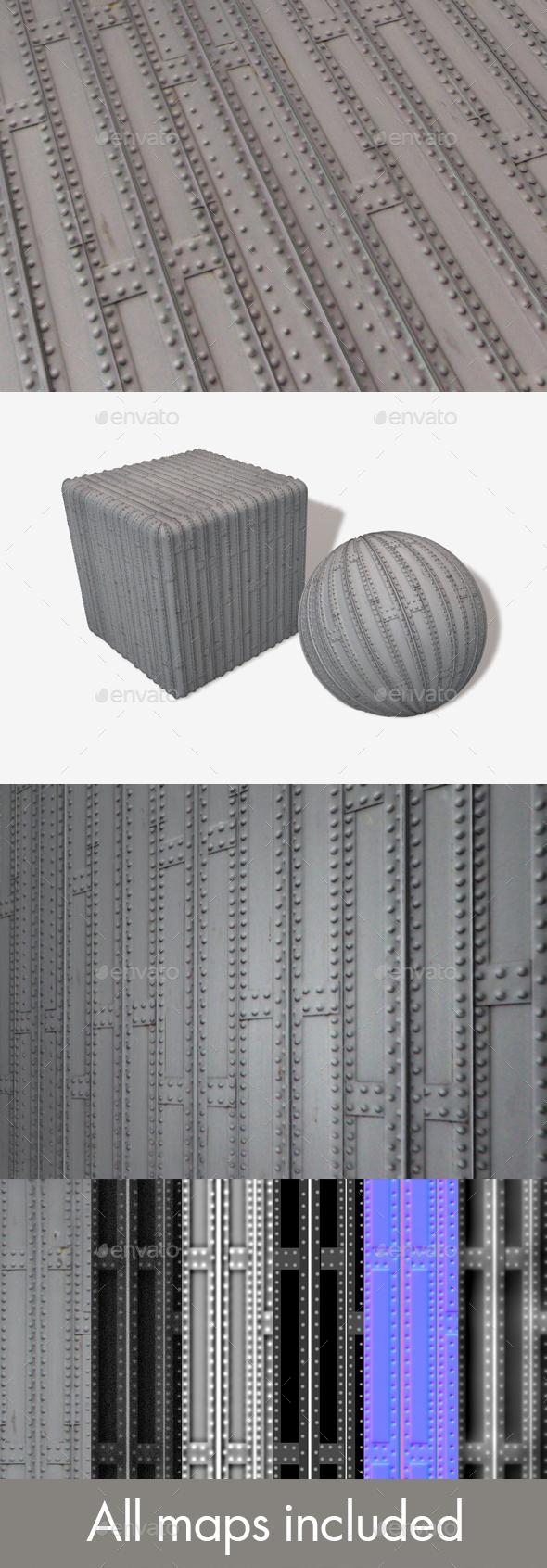 Metal Grid Seamless Texture - 3DOcean Item for Sale