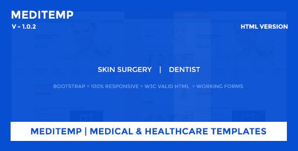 Meditemp | Medical & Healthcare Templates