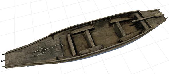 Old Boat - 3DOcean Item for Sale