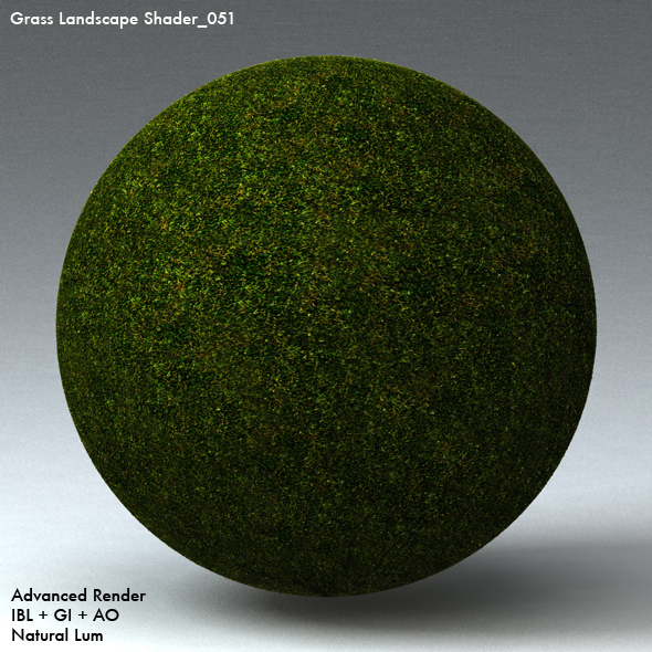 Grass Landscape Shader_051 - 3DOcean Item for Sale
