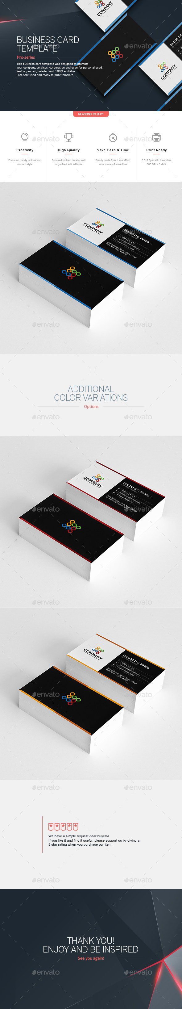 Business Card 19 - Corporate Business Cards