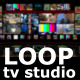 TV Studio Background Loop - VideoHive Item for Sale