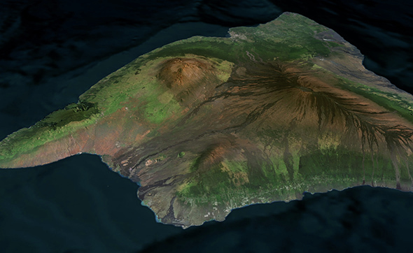 Mauna Loa Hawaii - 3DOcean Item for Sale