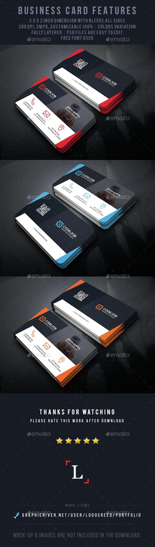 Designer Business Card - Business Cards Print Templates