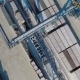 Aerial View: Area Warehouse With Railway Containers - VideoHive Item for Sale