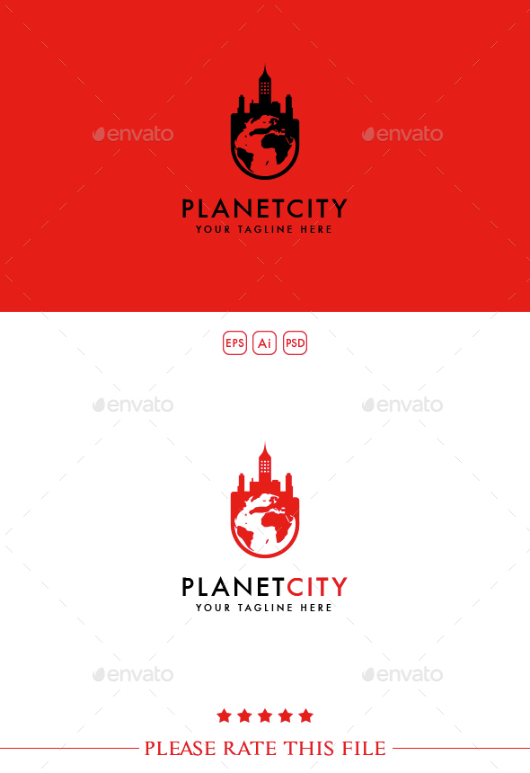 Planet Logo - Buildings Logo Templates