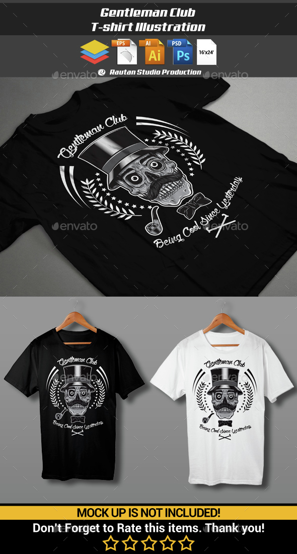 Gentleman Club - Designs T-Shirts