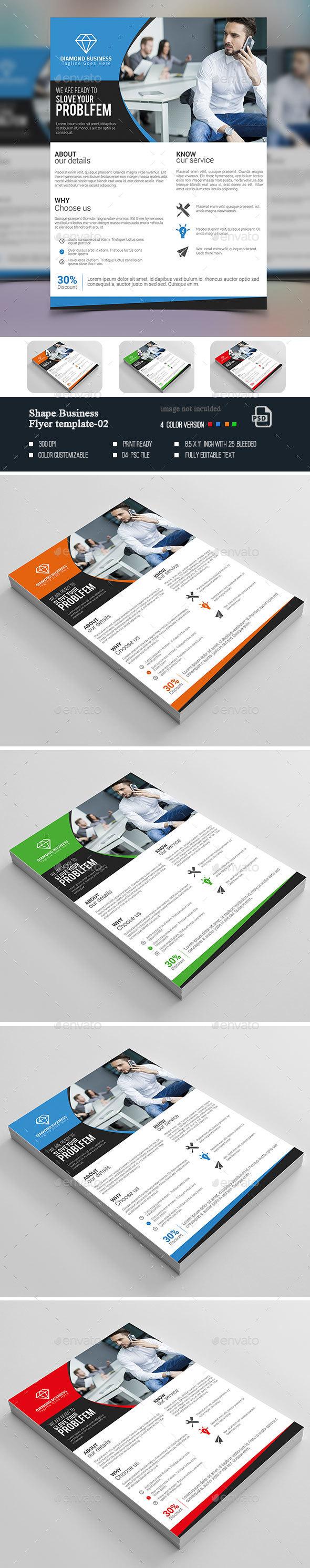 Shape Business Flyer-02 - Corporate Flyers