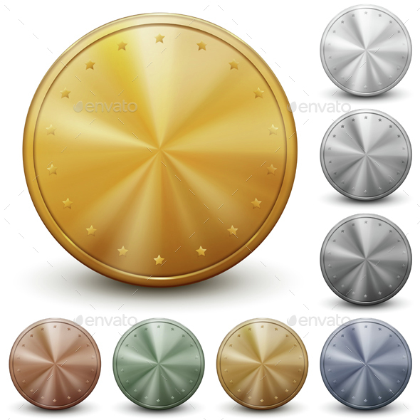 Set of Coins - Miscellaneous Vectors
