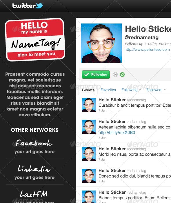 Pacino - Twitter Background - Twitter Social Media