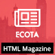 Ecota - Responsive Magazine & News HTML Template - ThemeForest Item for Sale
