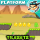 Landscape Platformer Game Tilesets 20 - GraphicRiver Item for Sale