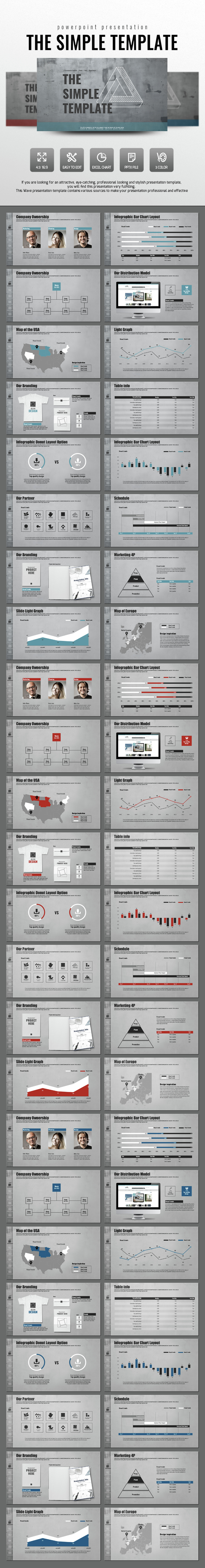 The Simple Template - PowerPoint Templates Presentation Templates