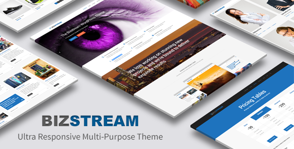 Bizstream – Ultra Responsive Multi-Purpose Theme