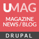 UMag - Responsive Drupal News / Magazine Theme - ThemeForest Item for Sale
