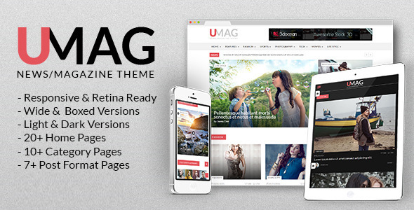 UMag - Responsive Drupal News / Magazine Theme