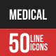 Medical Filled Line Icons
