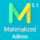 Materialize - Material Design Admin Template - ThemeForest Item for Sale