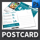 Mobile App Postcard Template - GraphicRiver Item for Sale