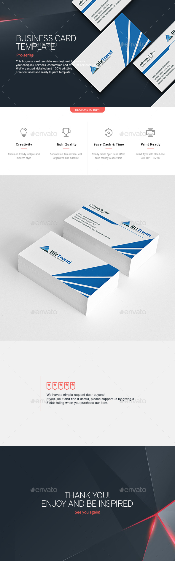 Business Card 2 - Corporate Business Cards