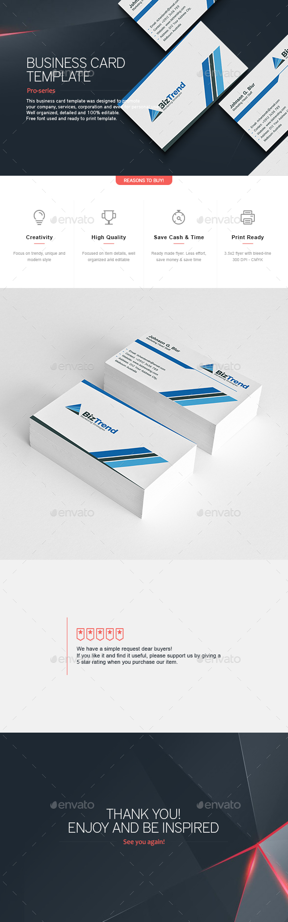 Business Card 3 - Corporate Business Cards