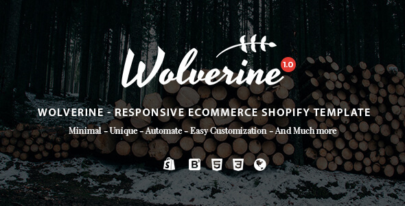Wolverine – Responsive Multipurpose Shopify Theme