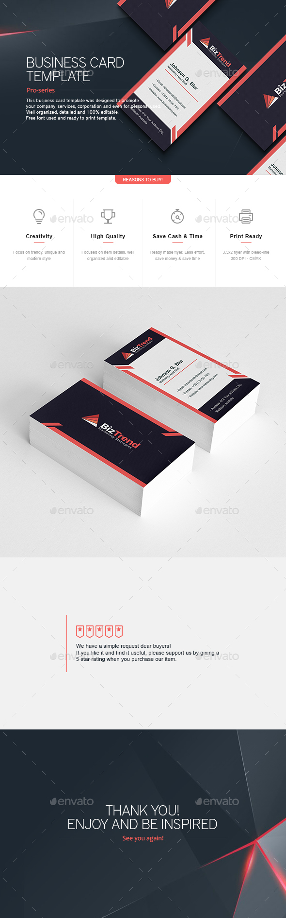 Business Card 4 - Corporate Business Cards