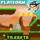 Rocky Place Game  Platformer Tilesets 22 - GraphicRiver Item for Sale