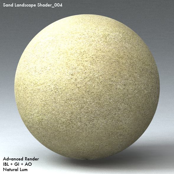 Sand Landscape Shader_004 - 3DOcean Item for Sale
