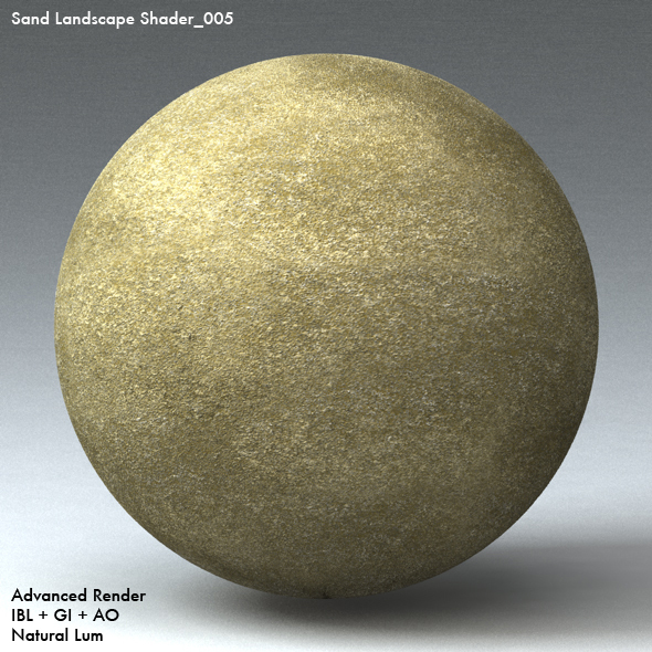 Sand Landscape Shader_005 - 3DOcean Item for Sale