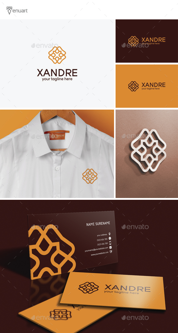 Letter X Logo - Letters Logo Templates