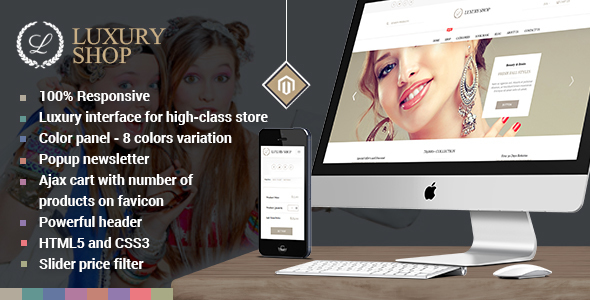 Luxury Shop - Responsive Magento Template