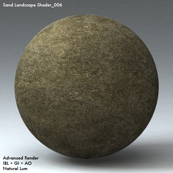 Sand Landscape Shader_006 - 3DOcean Item for Sale