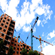 Tower Cranes Building a House - VideoHive Item for Sale