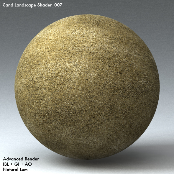 Sand Landscape Shader_007 - 3DOcean Item for Sale