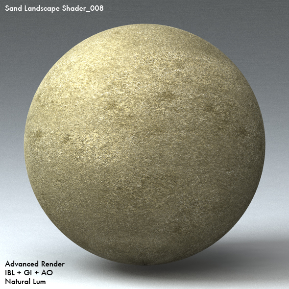Sand Landscape Shader_008 - 3DOcean Item for Sale