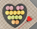 Macarons, heart  - PhotoDune Item for Sale